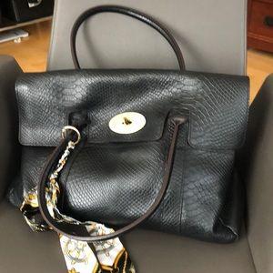 Genuine Leather (cowhide) satchel